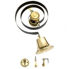 Butlers Bell & Pulleys - Polished Brass