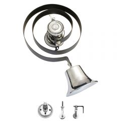 Butlers Bell & Pulleys - Polished Chrome