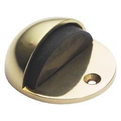 Door Stop - Polished Brass