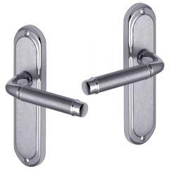 Door Handles - Polished Chrome, Satin Chrome