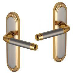 Door Handles - Satin Nickel