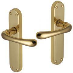 Door Handles - Polished Brass