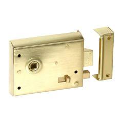 Rim Latch - Polished Brass